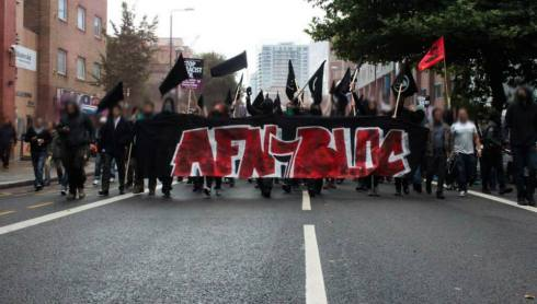 Anti-Fascist Network (AFN) in action