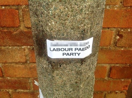 Labour Paedo Party Sticker